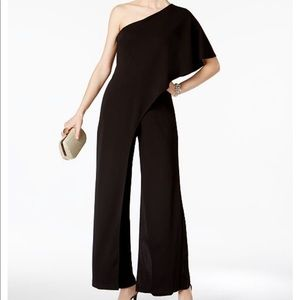 NWT! Adrianna Papell One Shoulder Jumpsuit